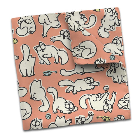 Simon's Cat Scarf Pink - Simon's Cat Shop