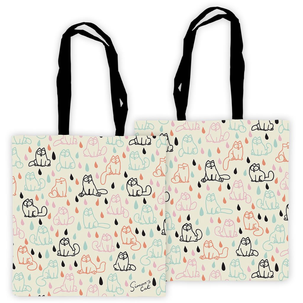 Simon's Cat Patterned Tote Bag - Simon's Cat Shop