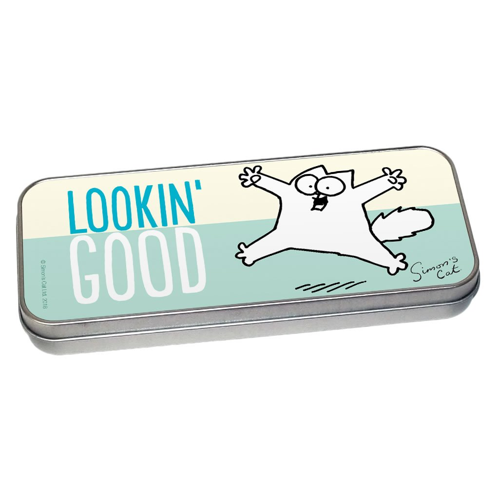 Lookin' Good Pencil Tin - Simon's Cat Shop