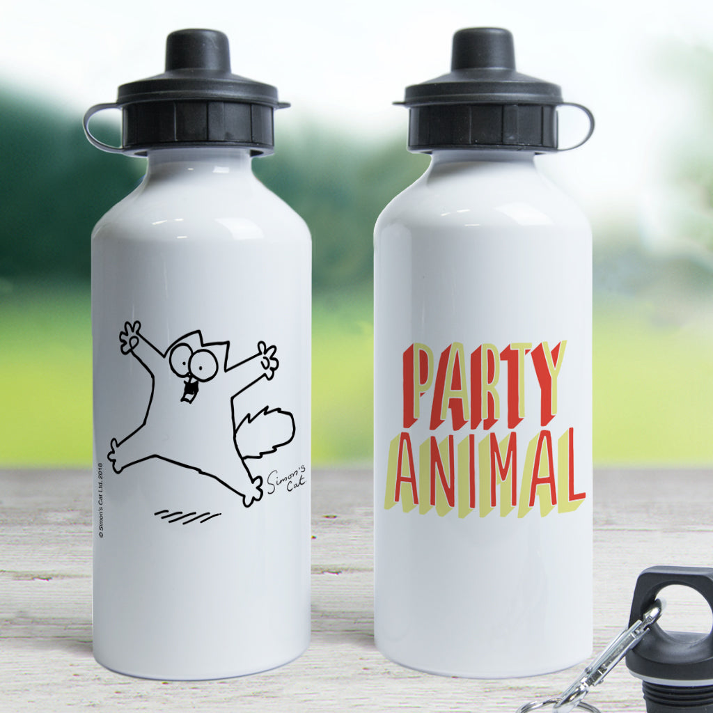Party Animal Waterbottle - Simon's Cat Shop