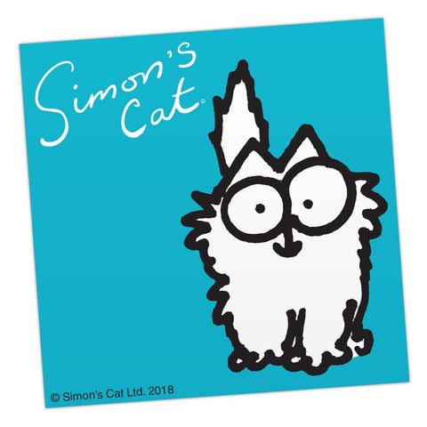 Smitten Kitten Sticker - Simon's Cat Shop