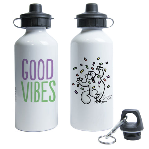 Good Vibes Water Bottle - Simon's Cat Shop