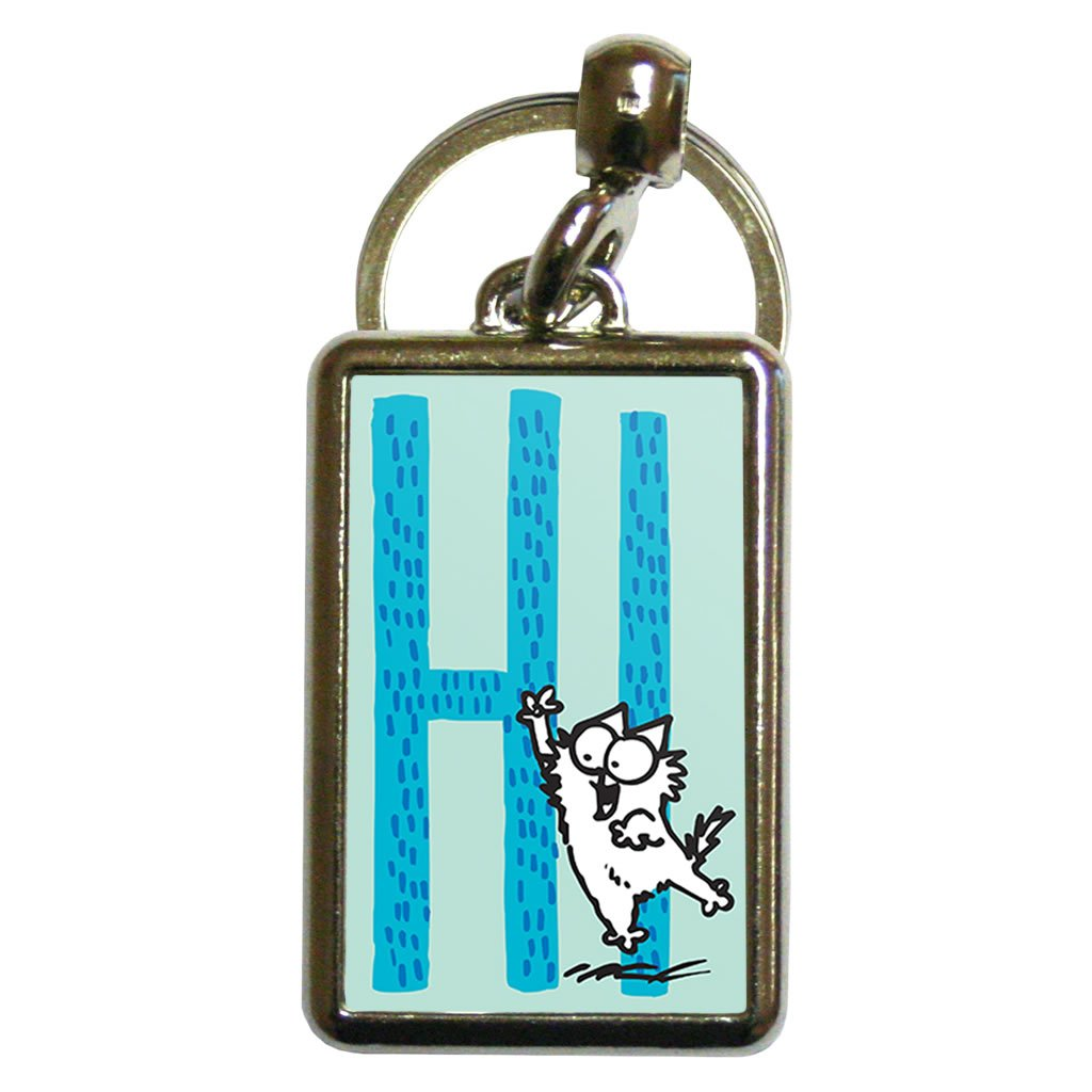 Hi Metal Keyring - Simon's Cat Shop