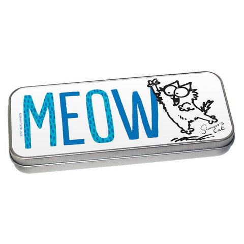Meow Pencil Tin - Simon's Cat Shop