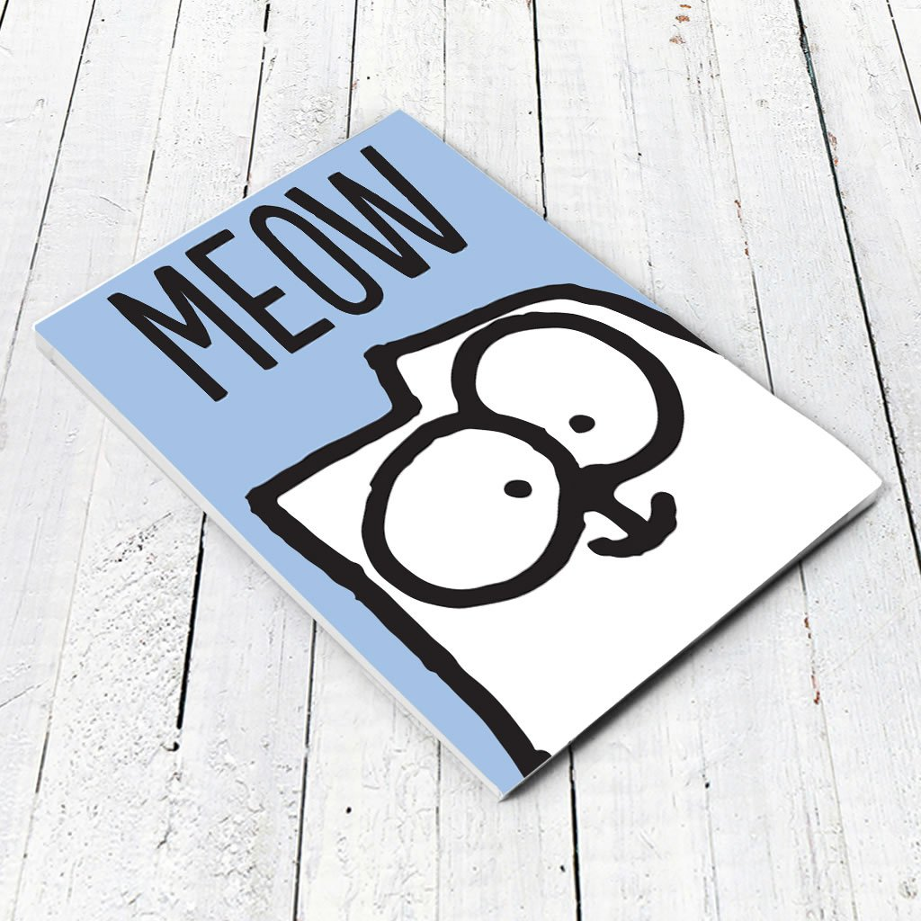 Meow A5 Notepad - Simon's Cat Shop