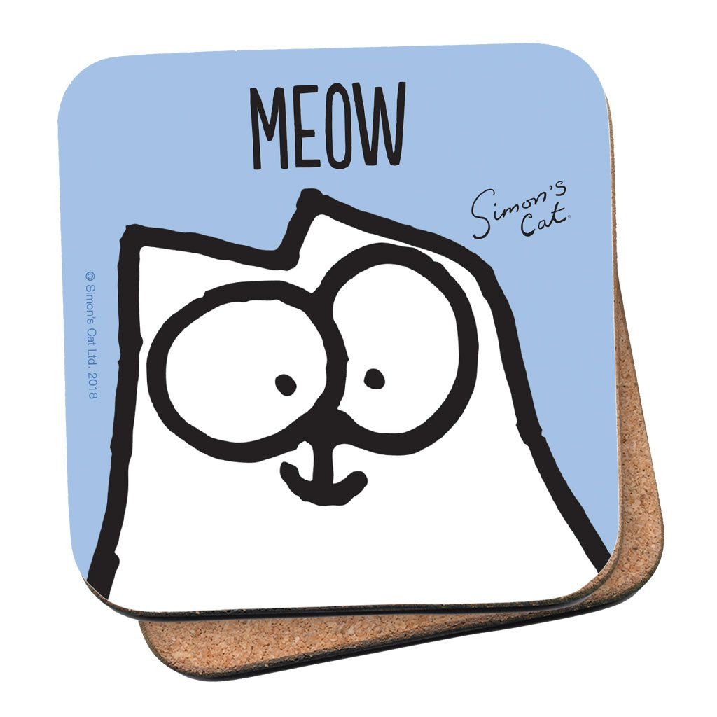 Meow Coaster - Simon's Cat Shop