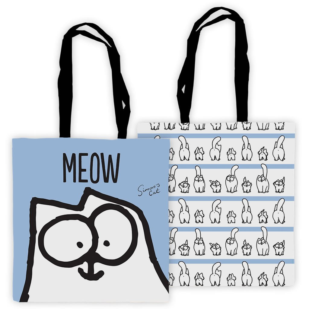 Meow! Tote Bag - Simon's Cat Shop
