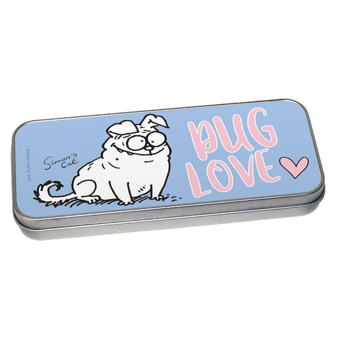 Pug Love Pencil Tin - Simon's Cat Shop