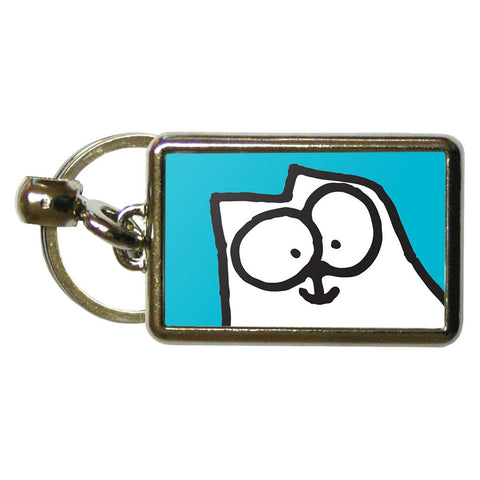 Simon's Cat Metal Keyring - Simon's Cat Shop