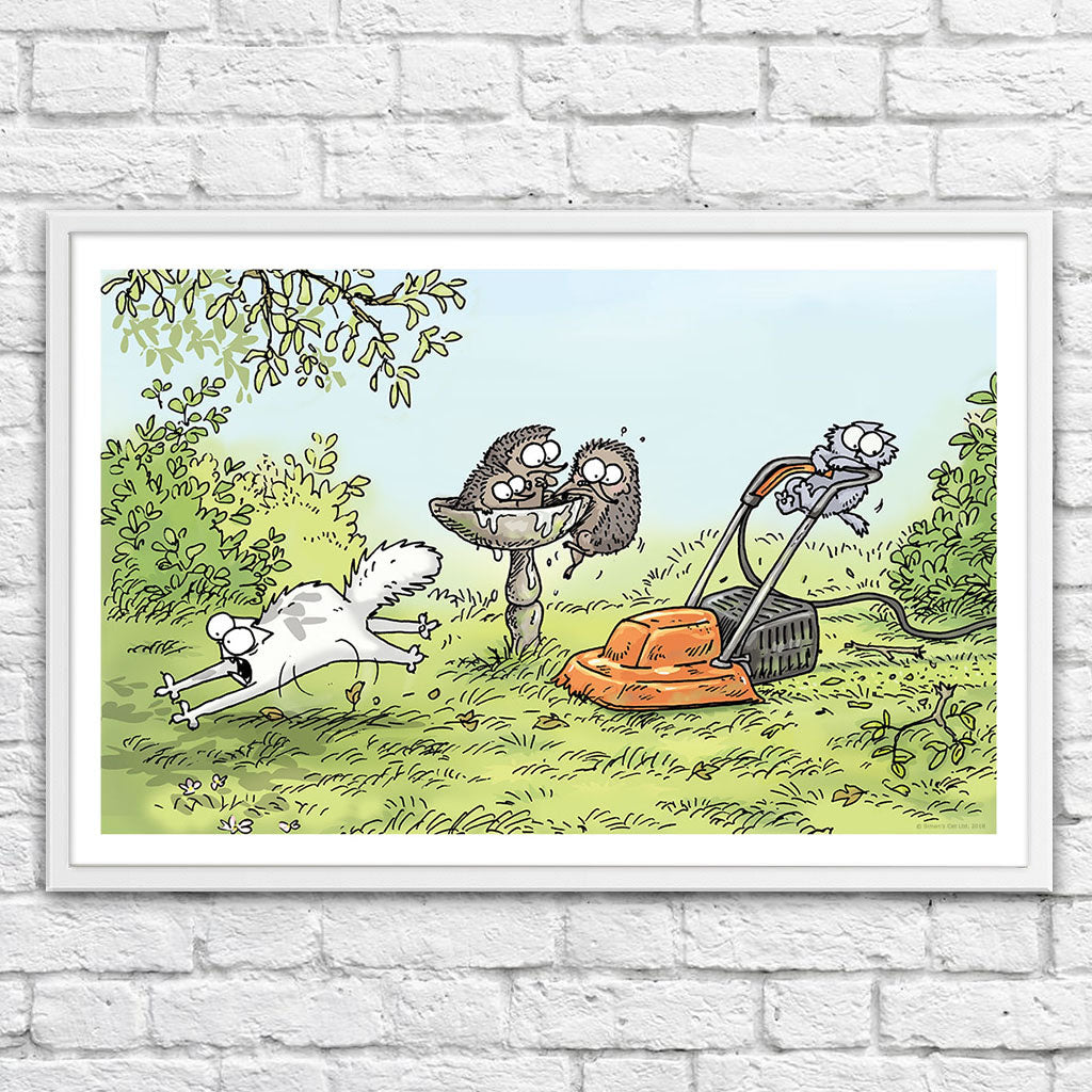 Kitten Chaos - Framed Art Print (61x40cm) - Simon's Cat Shop