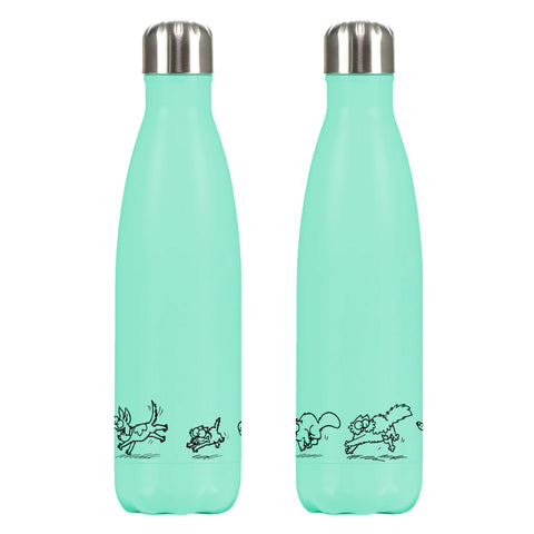 Limited Edition Teal Simon's Cat Water Bottle - Simon's Cat Shop