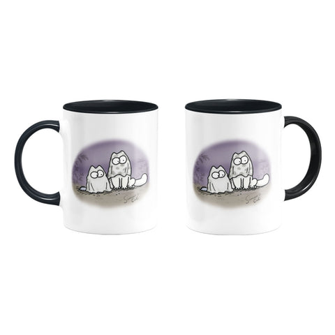 Simon's Cat Spooky Coloured Insert Mug