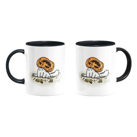 Simon's Cat Pumpkin Head Coloured Insert Mug