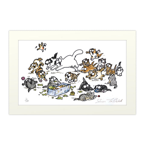 Simon's Cat Limited Edition Print - Simon's Cat Shop