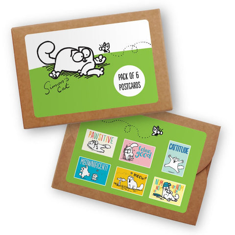 Feline Good Postcard Pack - Simon's Cat Shop