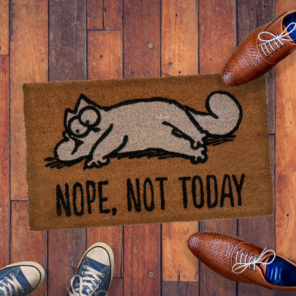 Nope Not Today Doormat