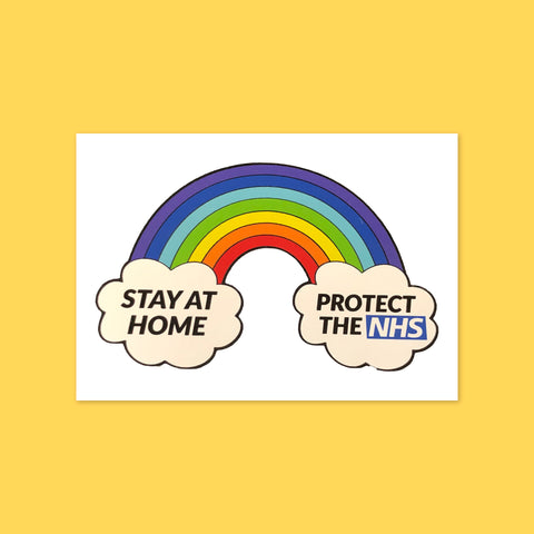 Protect the NHS Sticker - Simon's Cat Shop