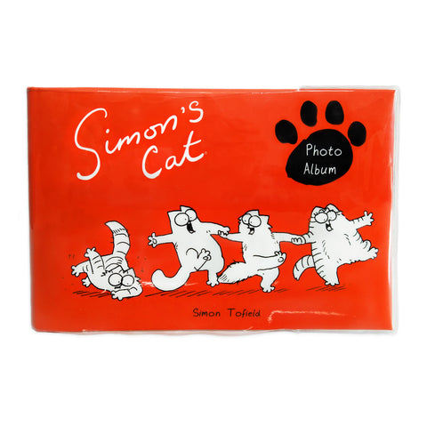 Simon's Cat Photo Album, 50 Page Book - Simon's Cat Shop
