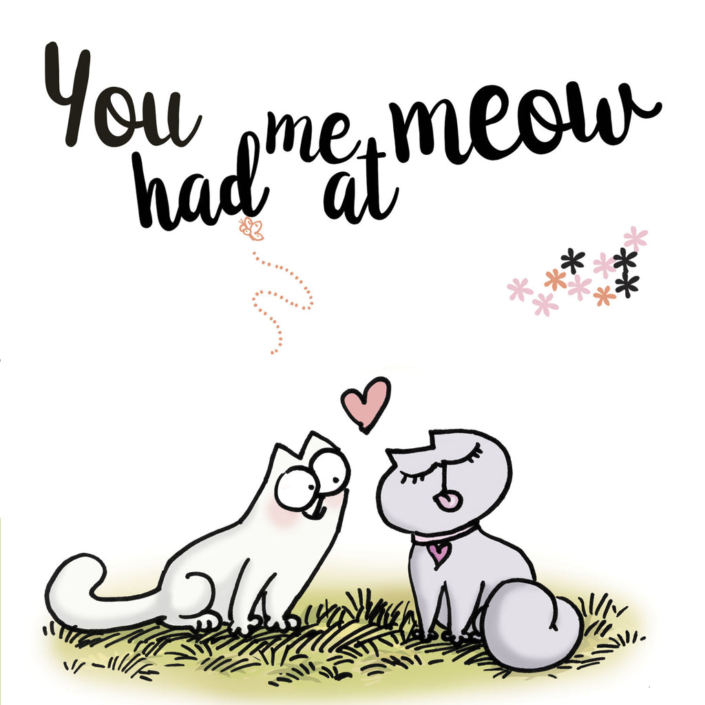Valentine's Greeting Card - Simon's Cat Shop
