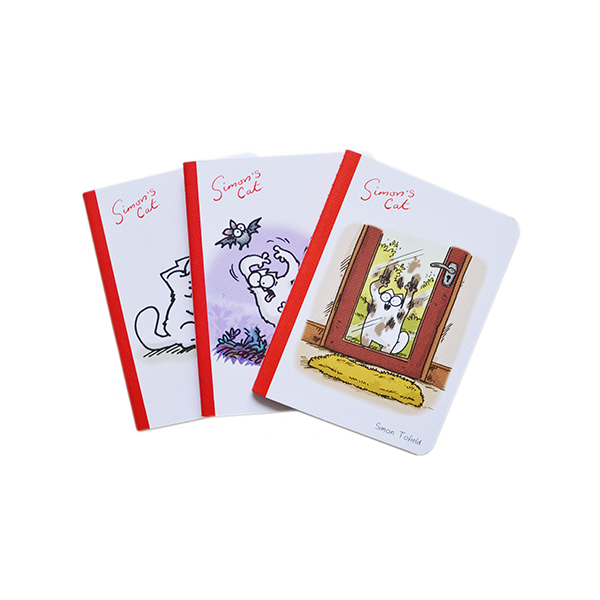 Simon's Cat Mini Notebooks - set of 3 - Simon's Cat Shop
