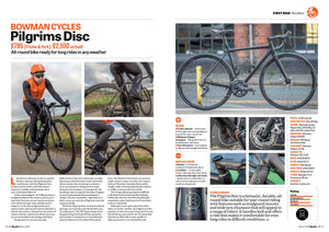 PILGRIMS DISC - BIKES ETC TEST