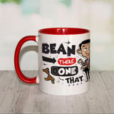 Bean There Done That Coloured insert mug (Lifestyle)