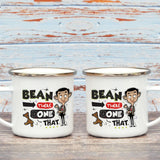 Bean There Done That Enamel Mug (Lifestyle)