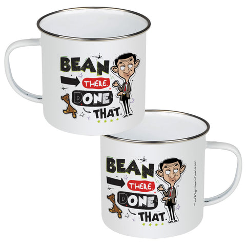 Bean There Done That Enamel Mug
