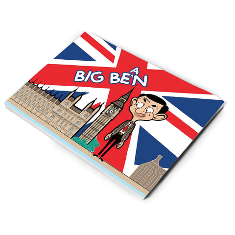 Big Bean A5 Notepad