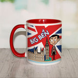 Big Bean Coloured insert mug (Lifestyle)