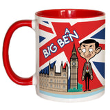 Big Bean Coloured Insert Mug