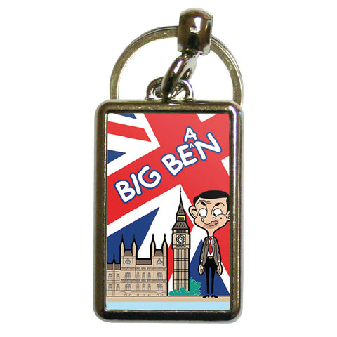 Big Bean Metal Keyring