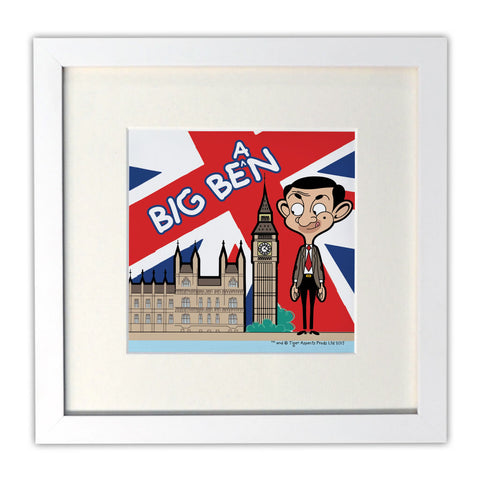 Big Bean Mounted Art Print