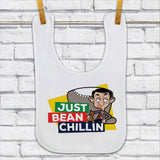 Just Bean Chillin Baby Bib (Lifestyle)