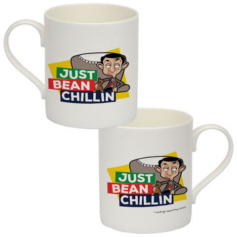 Just Bean Chillin Bone China Mug