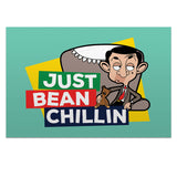 Just Bean Chillin Postcard pack