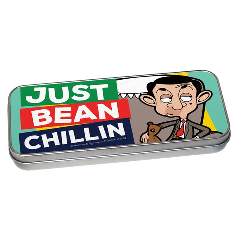 Just Bean Chillin Pencil tin