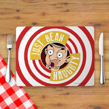 Just Bean Naughty Placemat (Lifestyle)