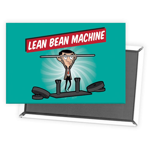 Lean Bean Machine Magnet