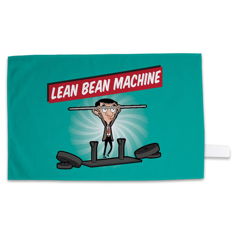 Lean Bean Machine Tea Towel
