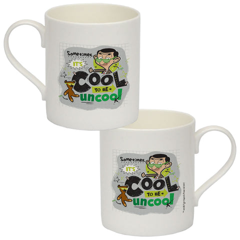 Sometimes It's Cool To Be Uncool Bone China Mug