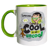Sometimes It's Cool To Be Uncool Coloured Insert Mug