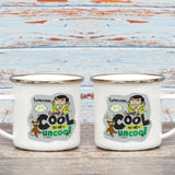 Sometimes It's Cool To Be Uncool Enamel Mug (Lifestyle)