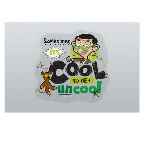 Sometimes It's Cool To Be Uncool Postcard pack