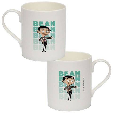Bean Thumbs Up Bone China Mug