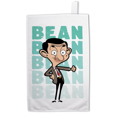 Bean Thumbs Up Tea Towel