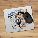 Bean beans, good for your heart Mouse mat (Lifestyle)