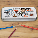 Bean beans, good for your heart Pencil tin (Lifestyle)