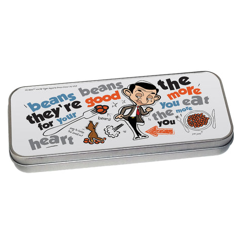 Bean beans, good for your heart Pencil tin