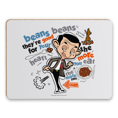 Bean beans, good for your heart Placemat